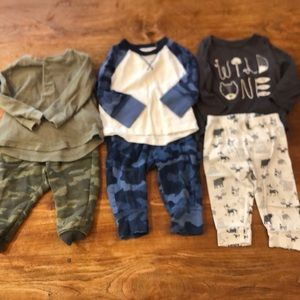 Three 12-18 month outfits
